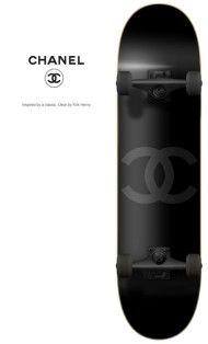Skateboard by Chanel   Luxurydotcom