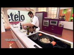 Receta: lomo con almendras y patatas gratinadas - YouTube