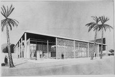 : Office Building. Bramlett Equipment Company, Miami 1956, Paul RUdolph