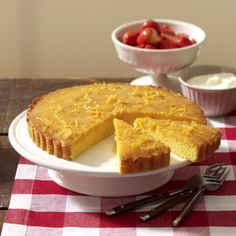 Polenta-Ricotta-Zitronenkuchen Rezept