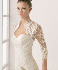 Bridal shrugs/bolero/cover up on Pinterest | Bridal Bolero, Lace ...