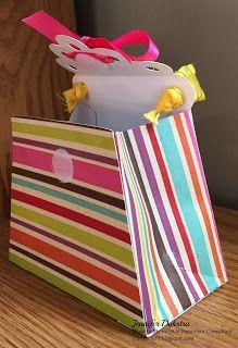 jd designs: Glitter Purse Built for a Transformer -- gift bag made using CTMH Cricut Artiste #ctmh, #closetomyheart, #ctmhartiste, #papercrafting, #giftbag, #cricut, #3dproject #jddesigns