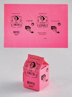 Milk Carton Postcards Really inventive postcard design! Gfx Design, Print Design, Logo Design, Brochure Design, Packaging Design Inspiration, Graphic Design Inspiration, Graphic Design Trends, Cover Design, Design Digital