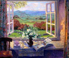 The view from Mia's window in Larkspur Road   Stephen Darbishire