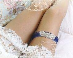 """Navy Blue Lace Ruffles Garter , rhinestone crystal Garter Bridal Wedding Honeymoon Keepsake Toss by FALAFALA *width 2.1cm*Size XS: stretch from 11.5""""inch - 15""""inch*Size S : stretch from 13.5""""inch to 17"""" *Size M : stretch from 15""""inch *Size L : stretch from 16.5""""inch *""""*""""*""""*""""*""""*""""*""""*""""*""""*""""*""""*""""*""""*""""*""""*""""*""""*""""*""""*""""*""""*International Shipping - Ships Within 3-5 business daysItem location - Hong KongEstimated delivery time : United States - 12-22 Business DaysUnited Kingdom - 14-28 Business DaysCanada…"""