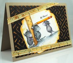 """The Pampered Stamper: """"So Big"""" with House Mouse and Friends Challenge and…"""
