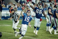 "Super Bowl XXV: A few weeks before the playoffs, Phil Simms broke his foot forcing Hostetler to guide the team. Jeff Hostetler propelled the Giants in Super Bowl XXV where they beat the Bills in what has become known as ""the wide-right game."" Hoss was 20-for-32 with 222 yards, with one touchdown."