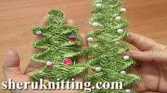 CROCHET HAIRPIN LACE CHRISTMAS TREE Tutorial 4 Part 1 and 2. http://sheruknitting.com/videos-about-knitting/srochet-hairpin-lace/item/382-crochet-hairpin-lace-christmas-tree.html http://sheruknitting.com/videos-about-knitting/srochet-hairpin-lace/item/383-hairpin-lace-ornament.html Learn to crochet hairpin lace with our free online tutorials. Make a beautiful Christmas tree ornament on hairpin loom