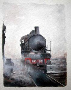 Francesco Capello #Watercolor