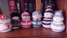 More sock snowmen!