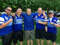 Kevin representing Eatontown Police Department in The Unity Tour