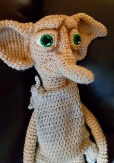 Dobby house elf, harry potter, amigurumiRedDragon Crochet - Projects   LoveCrochet