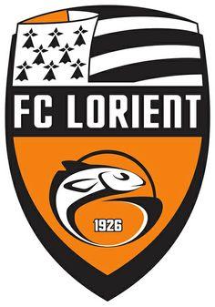 FC Lorient-Bretagne Sud - Soccer Sports Embroidery Logo in 4 sizes - Football Team Logos, Soccer Logo, Soccer Teams, Sports Logos, Basketball, France Colors, Live Stream, Soccer Kits, European Football