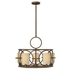 Pandora Bronze Five-Light Pendant