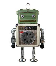 Thrift store robots!