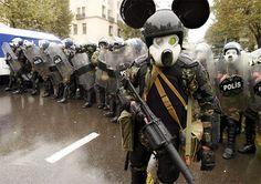 Cool mask.