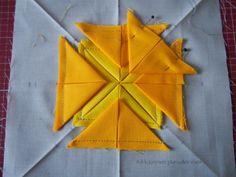 Stoffspielereien Januar 2017: Mit Ecken und Kanten   Nähzimmerplaudereien Origami, Star Cushion, Backpack Pattern, Quilt Blocks, Vintage Fashion, Vintage Style, Sewing Projects, Blog, Arts And Crafts