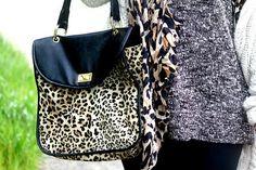 Leopard + Handbag