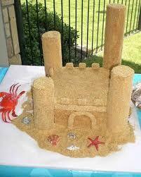 sandcastle cakes - Google Search