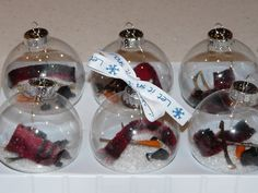 Melted Snowman Ornaments                                                       …