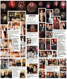 Bill Cunningham , Evening Hours Column, December 2012 , 58th International Debutante Ball , Waldorf-Astoria Hotel , Georgina Lara Booth , Natasha Emily Booth