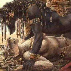 Anubis... Afrodita.