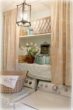 The Fancy Shack: The Laundry Room Makeover