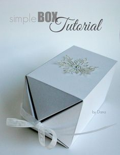 Instructions for a simple box - I still owe it to you! Some asked me for a guide to the chic box after this article from the 2013 a - Origami Design, Art Origami, Origami Butterfly, Paper Box Template, Christmas Crafts To Sell, Useful Origami, Origami Tutorial, Best Birthday Gifts, Diy Box