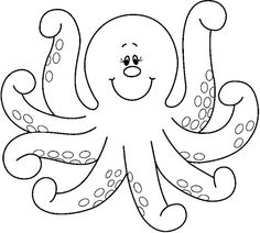 Figuras del océano - Sonia.3 U. - Picasa Webalbumok - octopus - COLORING PAGE, UNDER THE SEA, OCEAN