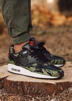 Atmos x Nike Air Max 1 'Tiger Camo/Snake' (by msgt16