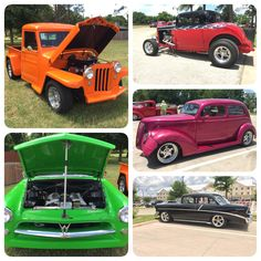 It was a good time in #Granbury this weekend! If you missed seeing this beauties, the Lone Star Street Rod Association will be back next year!! #streetrod #classics #oldschool