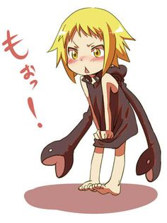 She was so cute as a kid. I so love this show and wish they would make more episodes where Maka finally became a sythe.
