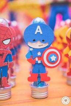 Tubetes super heróis
