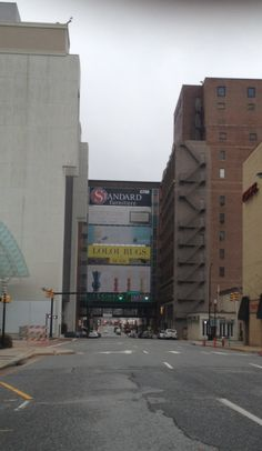 Downtown High Point, NC- market is over