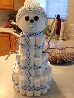 Winter Themed Diaper Cake for Baby Boy – Gift Basket Ideas Baby Shower Diapers, Baby Shower Cakes, Baby Boy Shower, Baby Shower Gifts, Baby Gifts, Baby Shower Decorations For Boys, Baby Shower Centerpieces, Baby Shower Themes, Shower Ideas