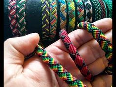 Make Beaded Wavy Spiral Bracelet (DIY Tutorial). See more beaded bracelets in playlist: http:/. Macrame Jewelry Tutorial, Macrame Bracelet Patterns, Macrame Necklace, Friendship Bracelet Patterns, Macrame Bracelets, Friendship Bracelets, Beads Tutorial, Paracord Bracelets, Bff Bracelets