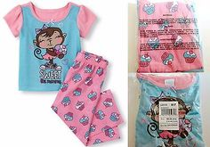 The Childrens Place Toddler Girl Pajamas - Size 18-24 Months - Pink Blue