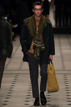 Burberry Prorsum, Look #3