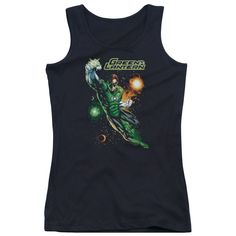 Justice League of America - Galactic Guardian Junior Tank Top