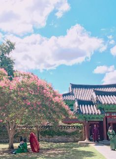 """Park Bo Gum & Kim Yoo Jung in """"Moonlight Drawn by Clouds"""" ©®@Jeros (Twitter)"""
