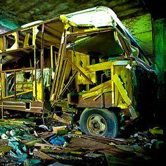 Abandoned Packard Plant, Detroit, MI