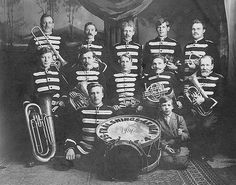 Fralsnings-Armen (Salvation Army) Band, Seattle, 1914