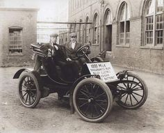 Thomas Edison Electric Cars