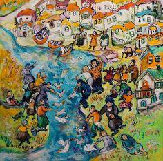 Tsuga Fine Art - Renate Dollinger - Tashlich