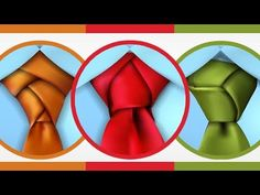 Ever tried a complex necktie knot? Here are easy step-by-step instructions on how to do 3 crazy tie knots.