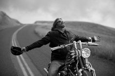A bike, a road and the Wind. Just a biker can understand and feel.