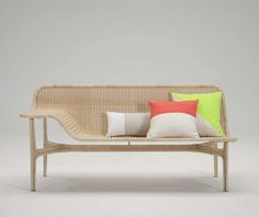 The Relation Collection by Hiroomi Tahara Features Contemporary Curves #patio #outdoorfurniture trendhunter.com