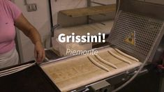 Watch the process of making the famous breadsticks of Piemonte in the town of Barolo Italy Travel, Fashion Bags, Watch, Fashion Handbags, Clock, Bracelet Watch, Italy Destinations, Clocks