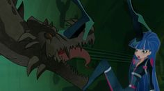 World of Winx - Season 1 Episode 4 - The Monster Under the City [Screenshots]