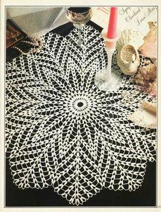 "Foto del álbum ""magic of knitting en - Crochet Doilies, Coasters & Table Runners - Mandala Au Crochet, Art Au Crochet, Beau Crochet, Free Crochet Doily Patterns, Crochet Doily Diagram, Crochet Motifs, Crochet Home, Thread Crochet, Hand Crochet"